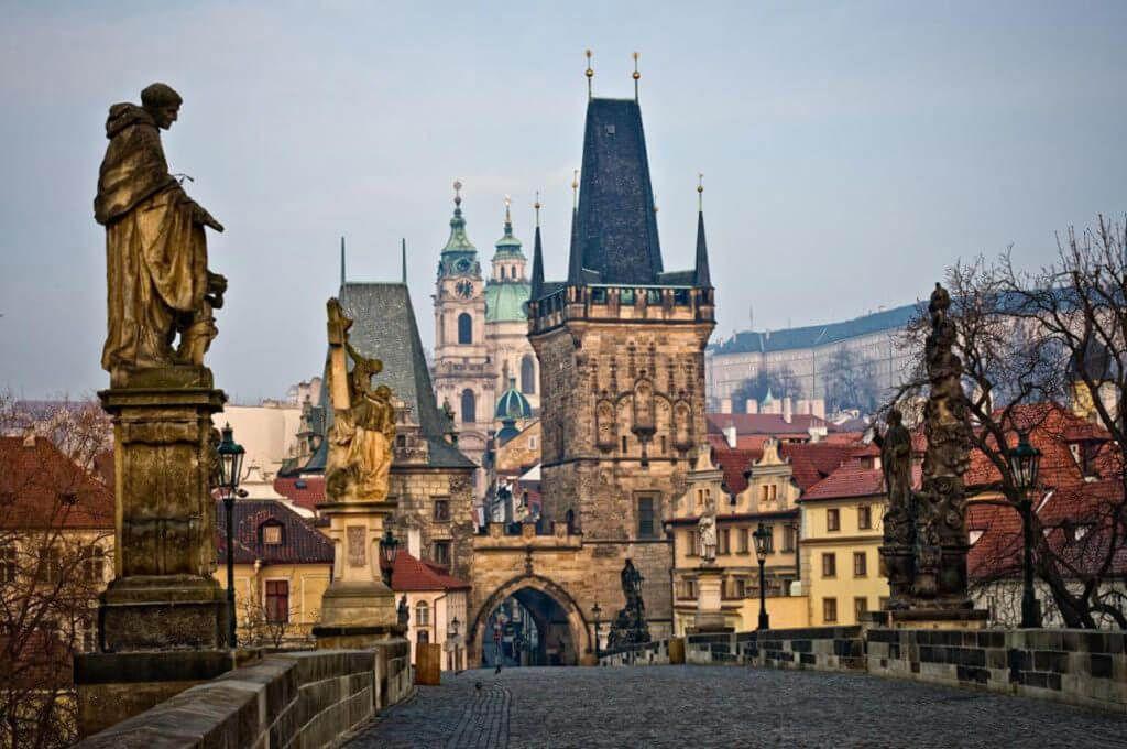 Карлов мост в Чехии