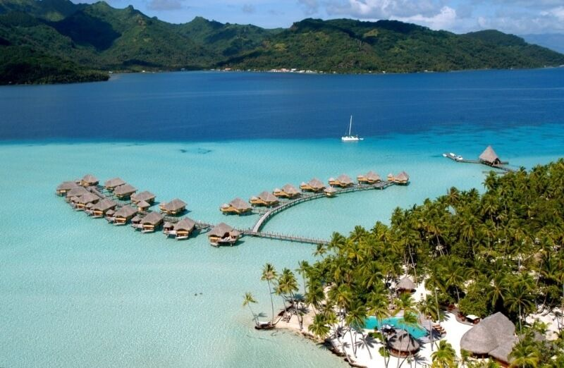 фото острова Тахаа
