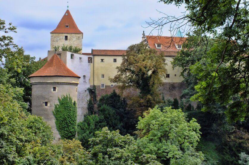 фото башни Далиборка в Чехии