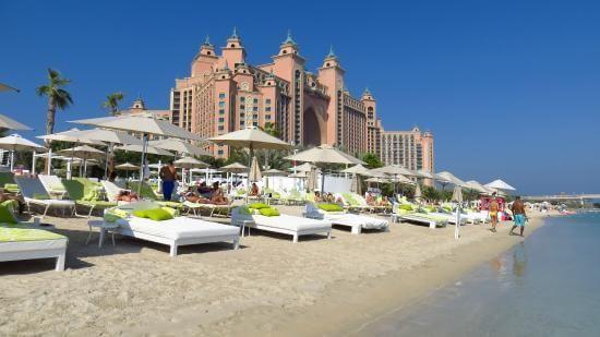 пляж Насими в Дубае