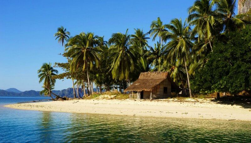 Остров Палаван на Филиппинах