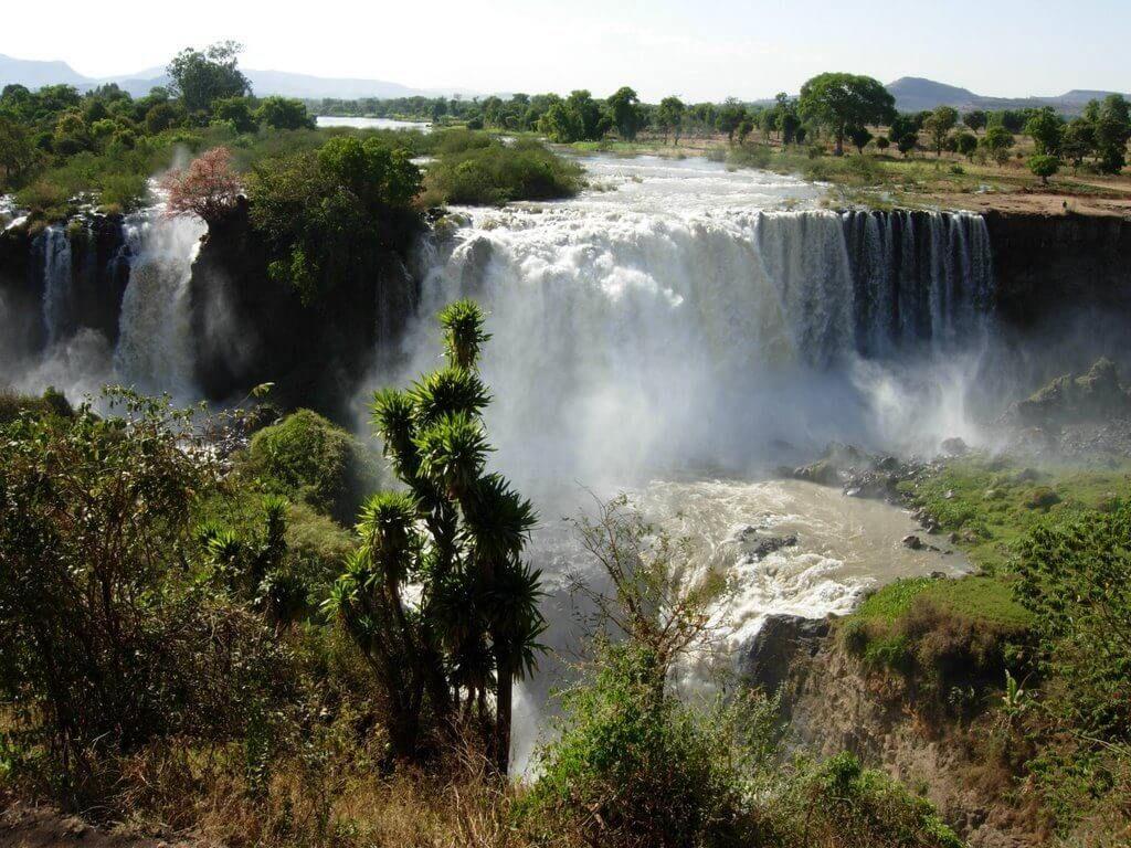 Водопады голубого Нила