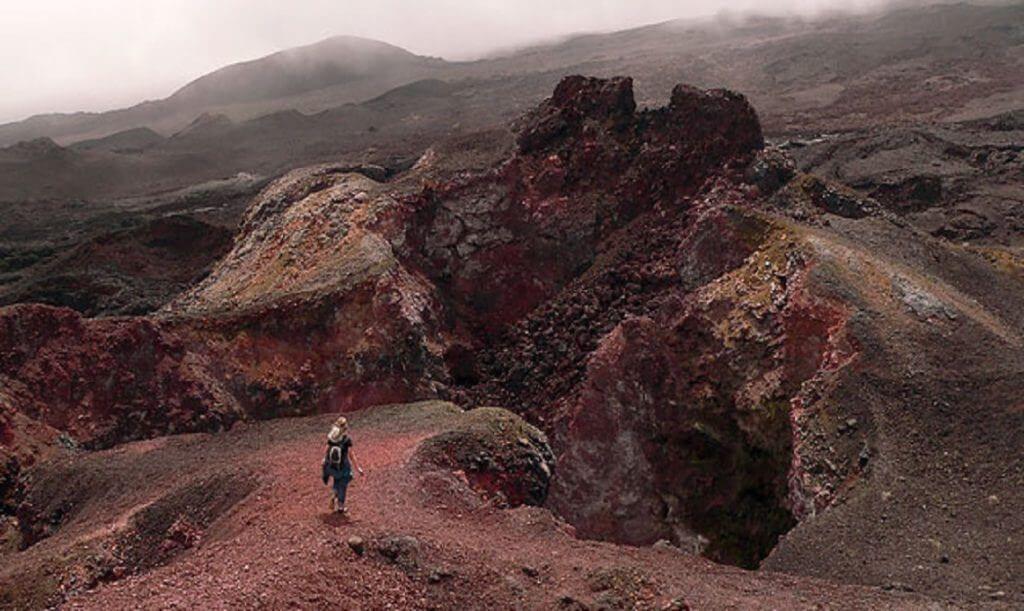вулкан Сьерра-Негра на Галапагосских островах