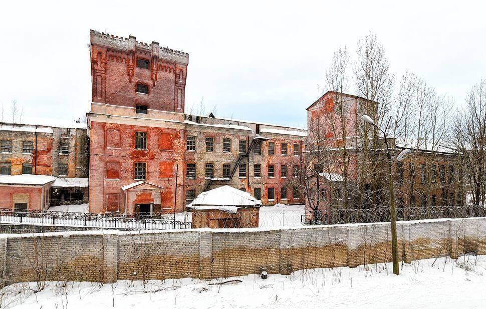 Льноджутовая фабрика в Ивангороде