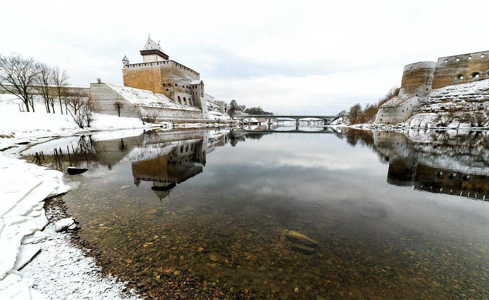 Крепости в Ивангороде