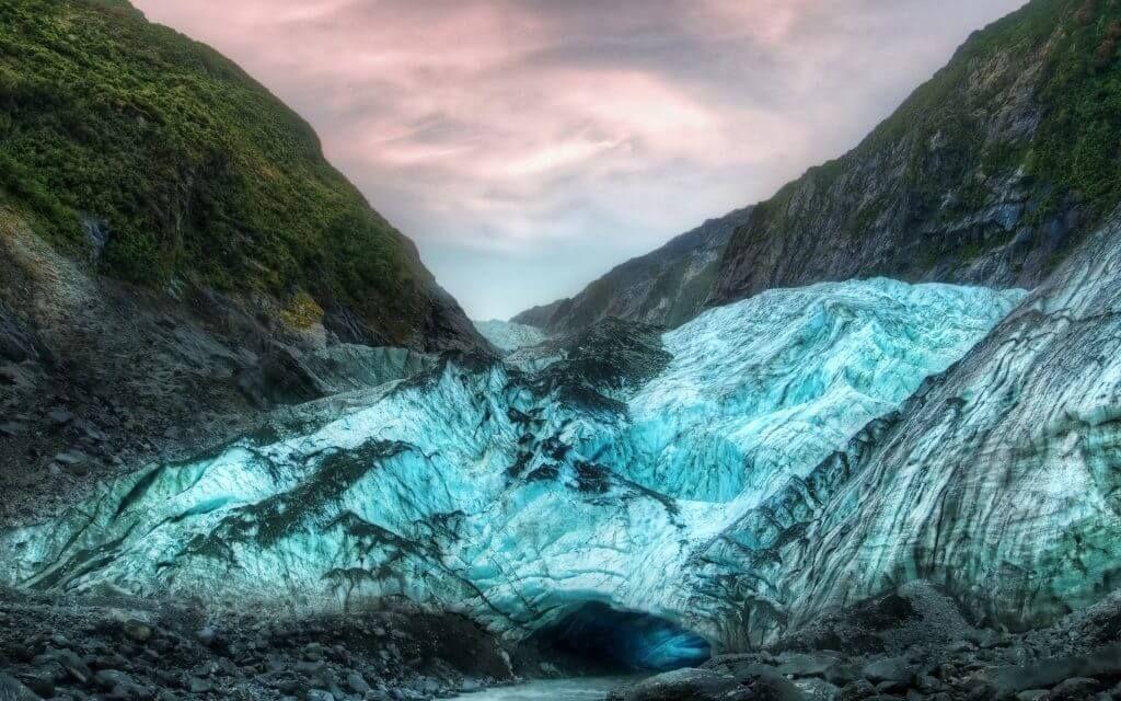 Ледник Франца-Иосифа в Новой Зеландии