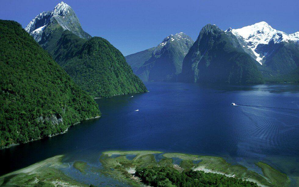 Милфорд-Саунд в Новой Зеландии