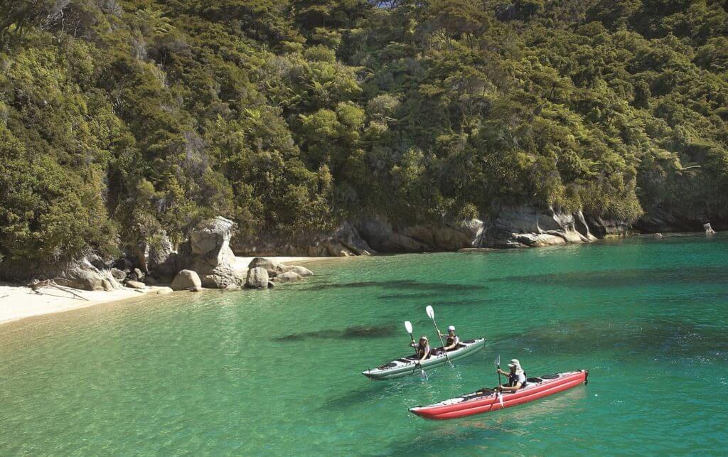 Каякинг Новая Зеландия