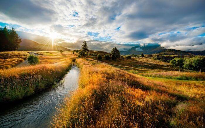 Осень в Новой Зеландии
