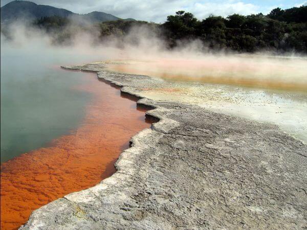 Уаи-О-Тапу в Новой Зеландии