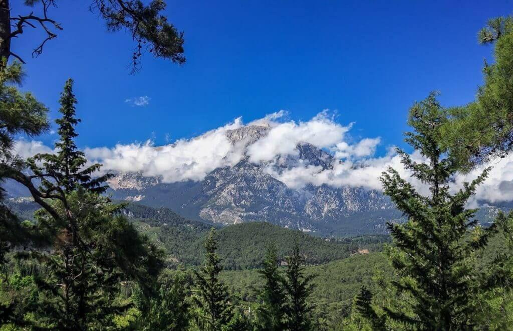 Гора Тахталы в Турции