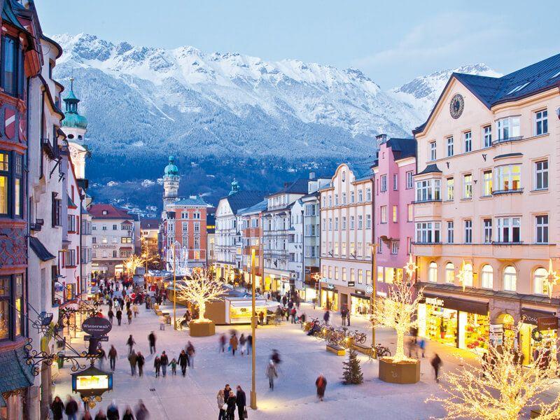 фото Инсбрук зимой