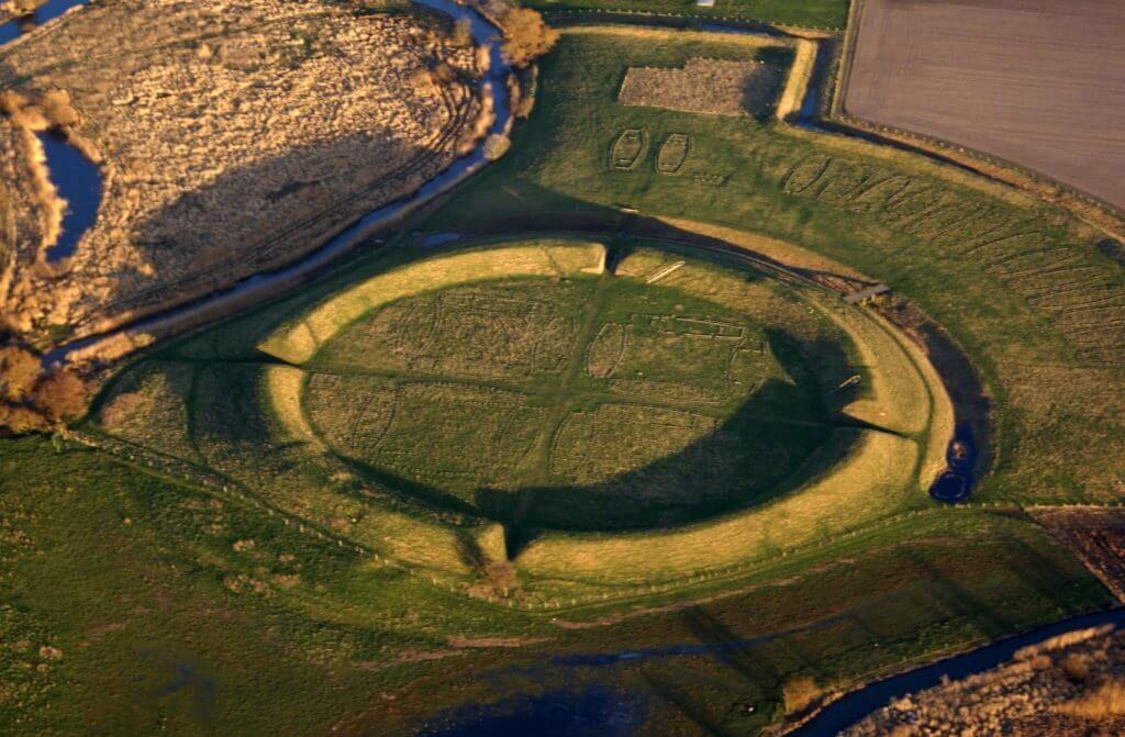 Крепость Аггерсборг в Дании