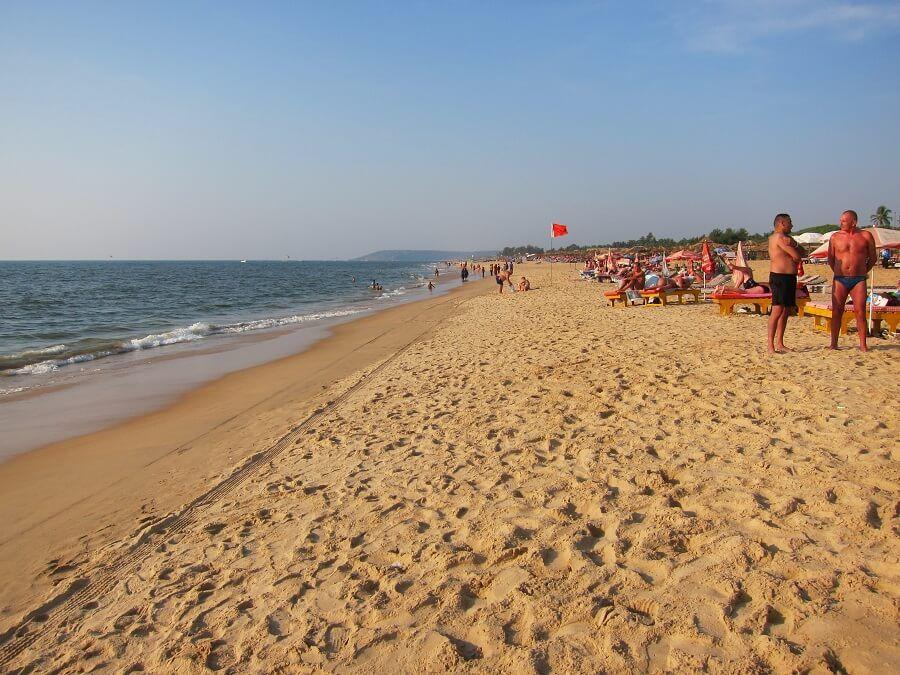 Пляж в Калангуте