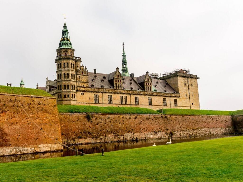 Замок Кронборг Дания