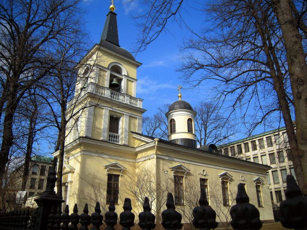 Троицкая церковь в Хельсинки