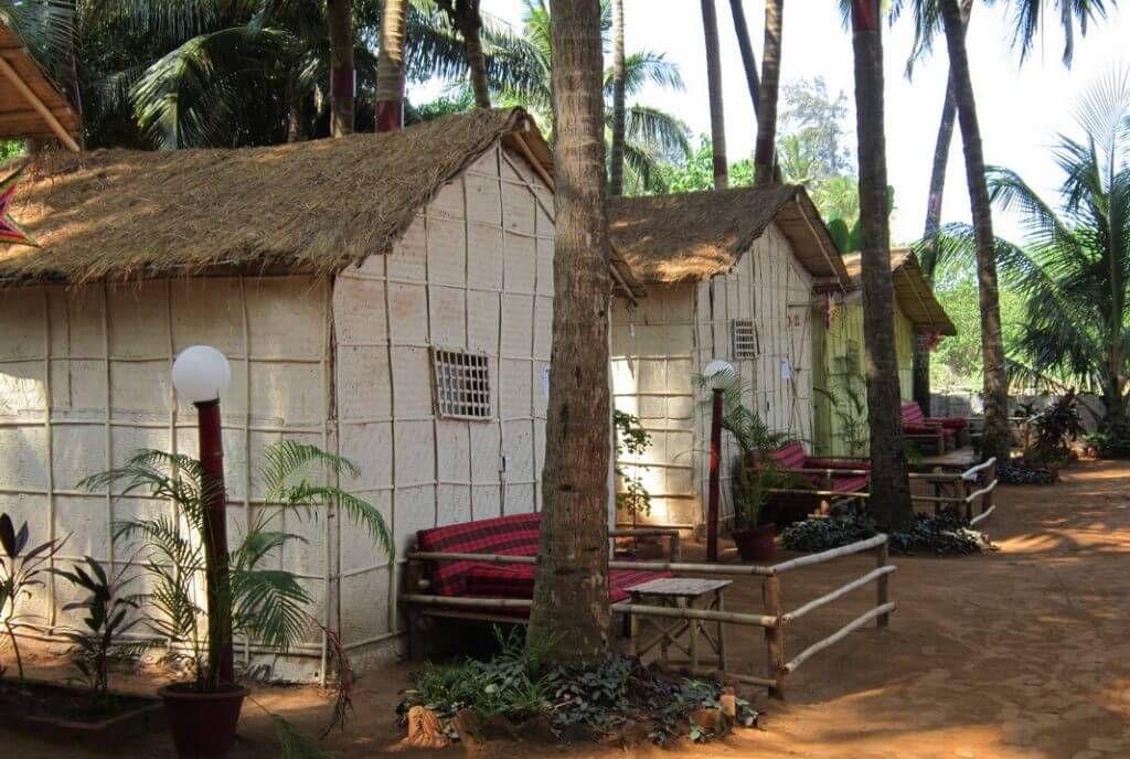 Бамбу-хатсы на Гоа