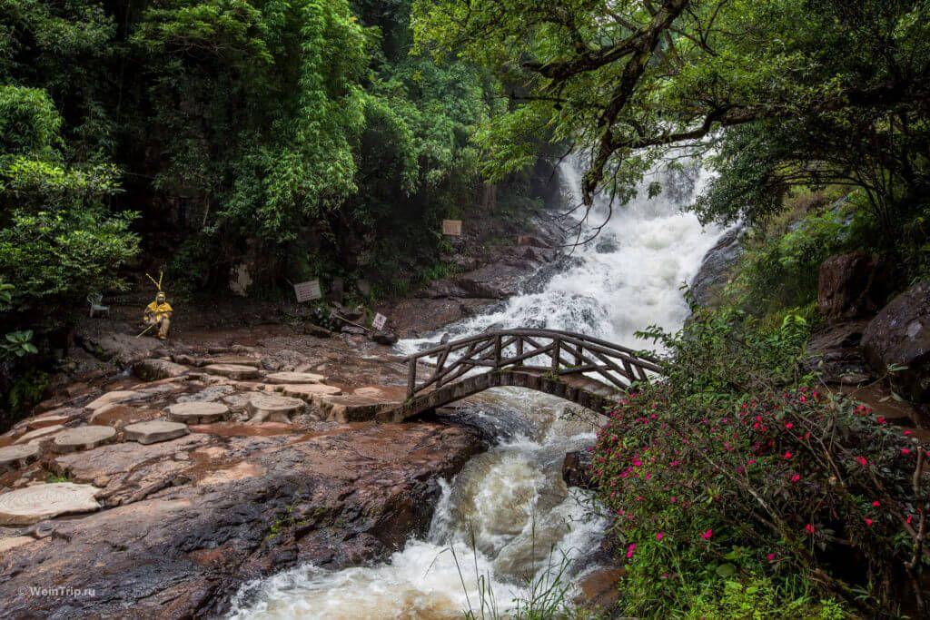 Водопад Датанла близ Далата
