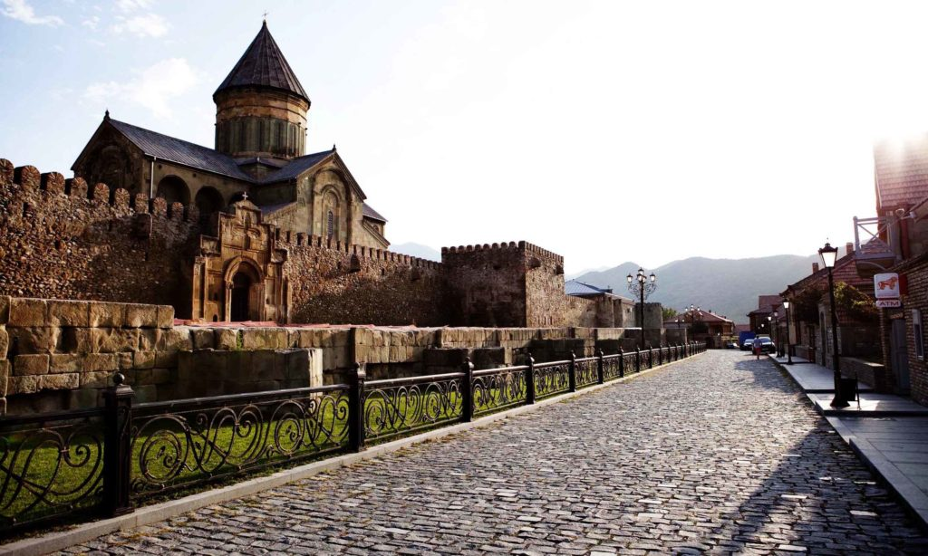 город Мцхета, Светицховели - самая древняя церковь Грузии
