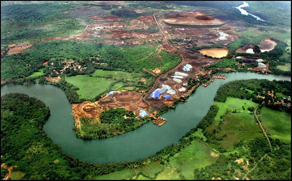 Река Зуари Индия, Гоа