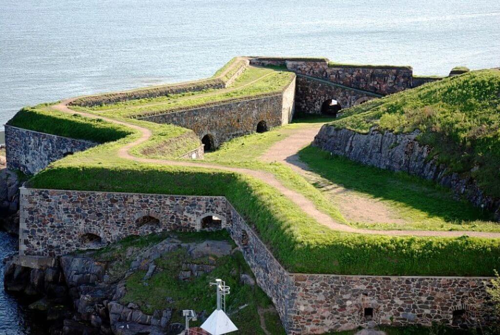 Шведская крепость Свеаборг в Финляндии