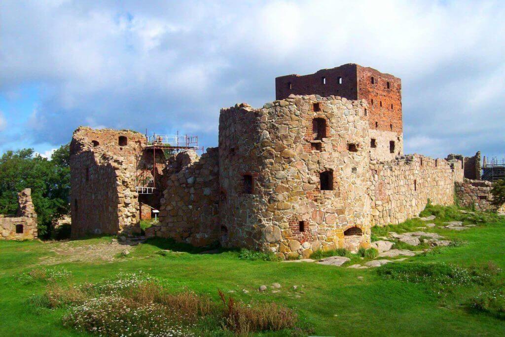 Замок Хаммерсхус в Дании