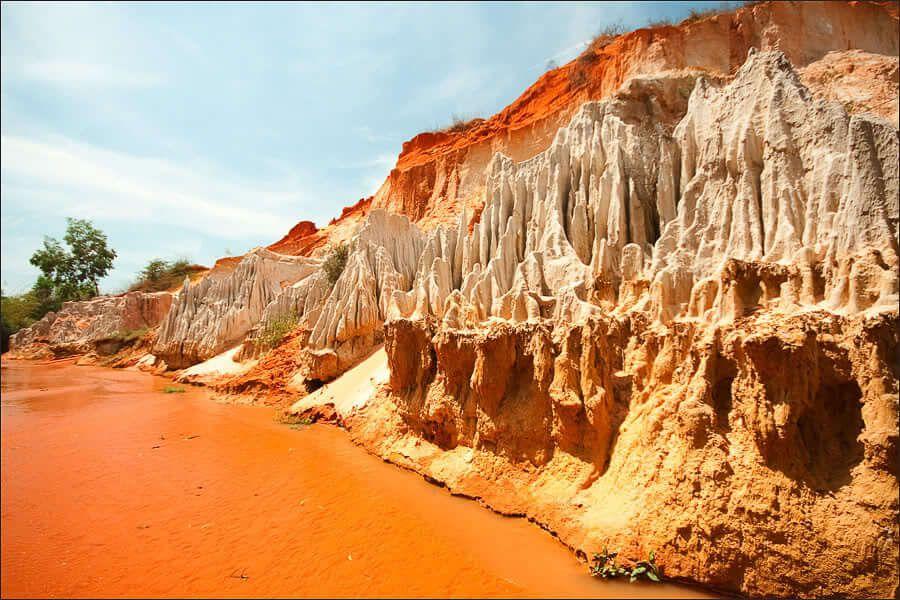 Красный каньон в Фантхьете Вьетнам