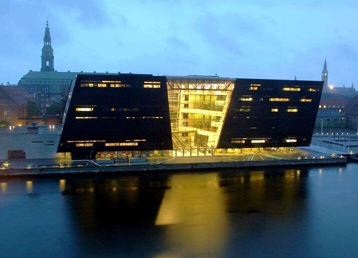 Королевская библиотека в Дании