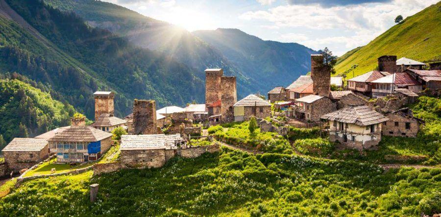 Самые красивые достопримечательности Грузии: великая история прекрасной страны