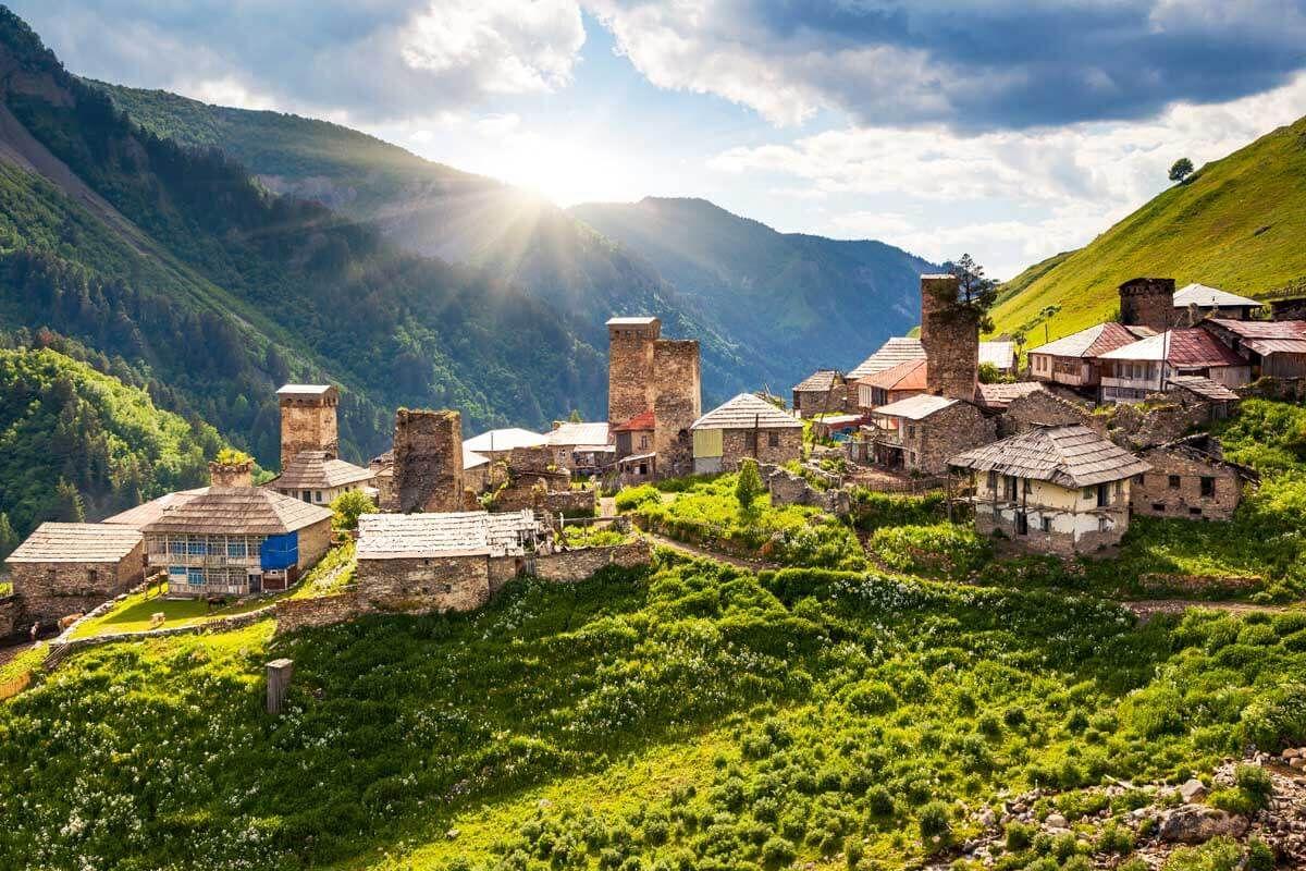 Грузия достопримечательности страны самые красивые