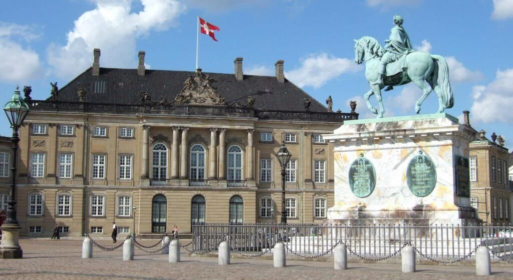 Амалиенборг Дания
