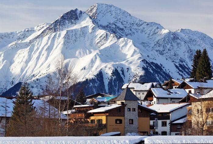 фото Зеефельд зимой