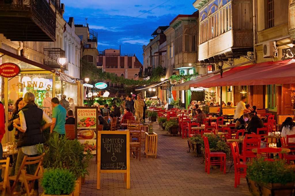 Пешеходная улица Тбилиси - Улица Шардена