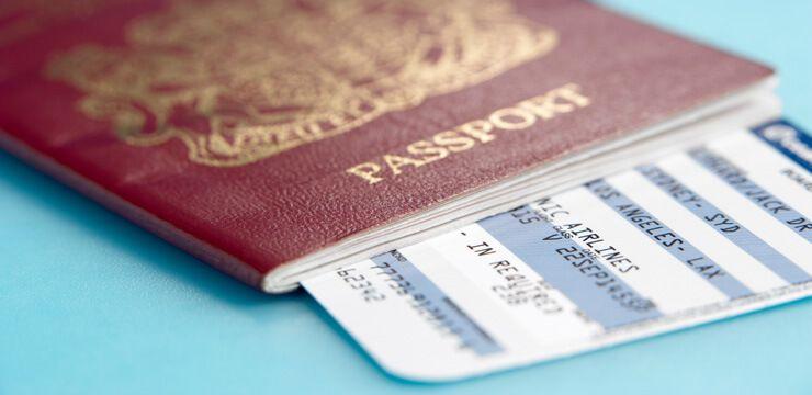 фото паспорт с билетом