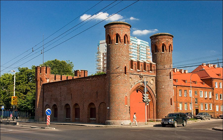 калининград закхаймские ворота
