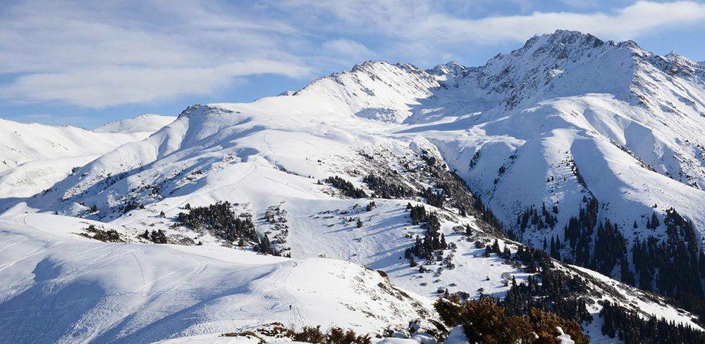 Киргизия горнолыжная база Каракол
