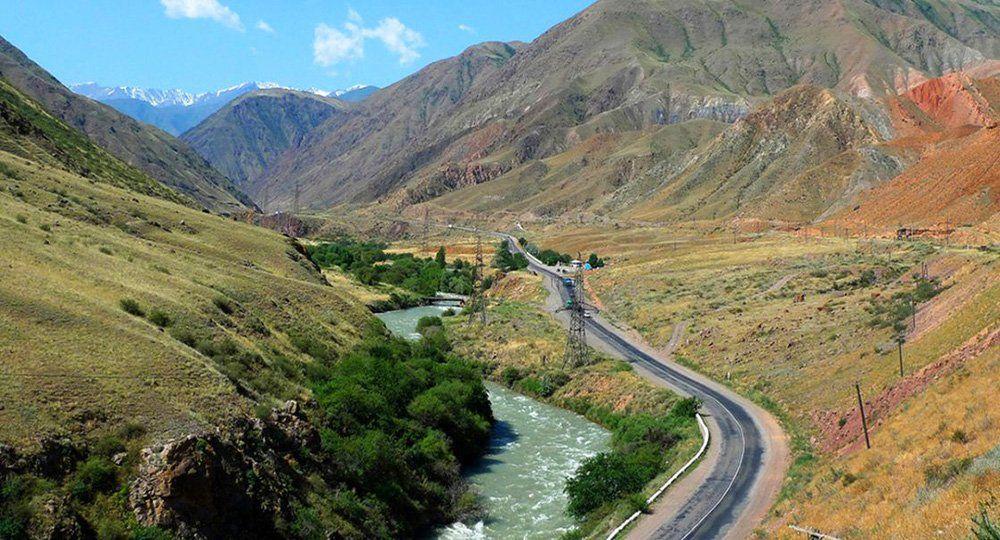 Киргизия Боомское ущелье