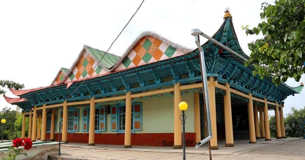 Каракол Дунганская мечеть