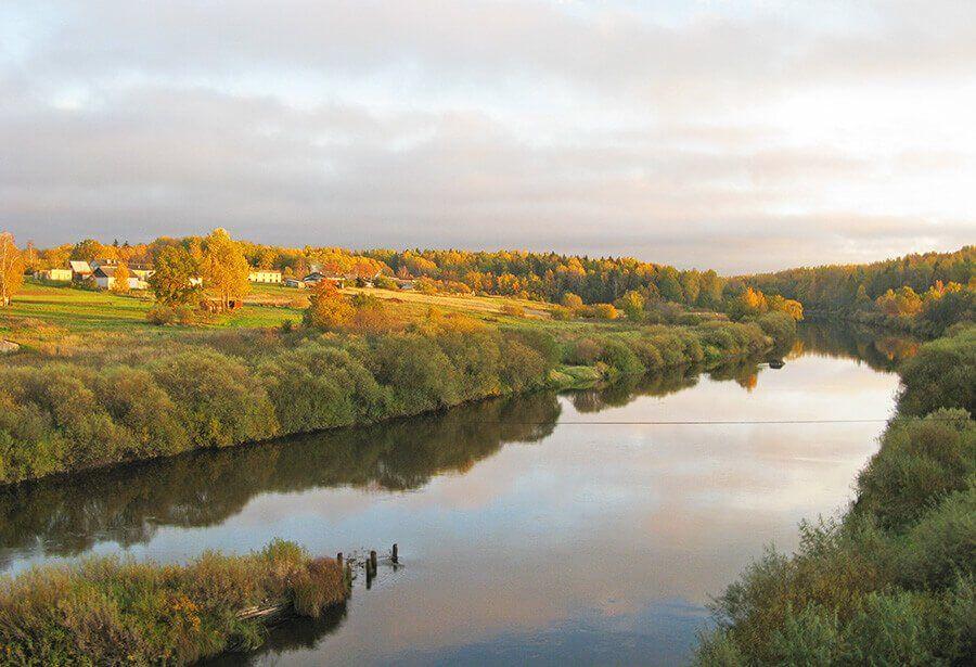 Псков река Великая фото