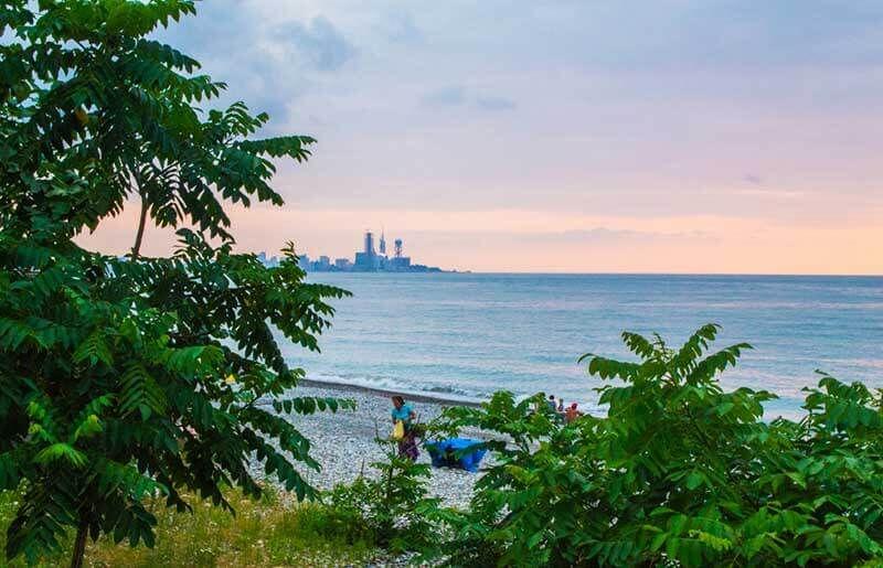 пляж Махинджаури