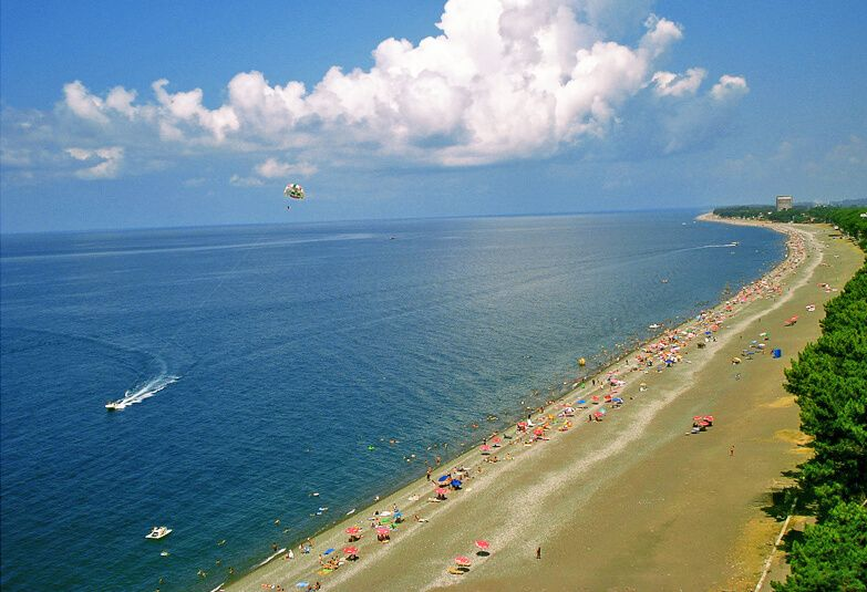 пляж Кобулети