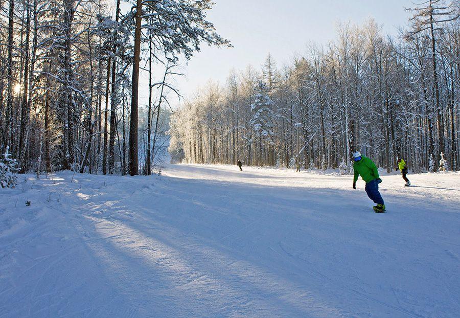 Завьялиха сноубординг