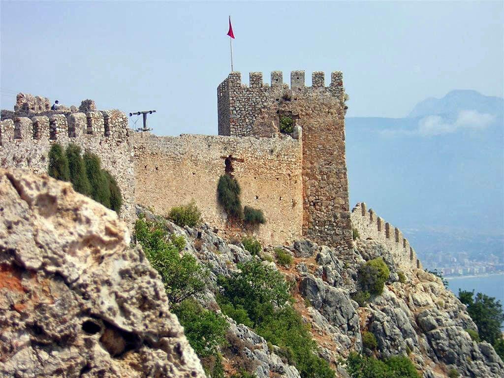 фото крепости в Аланьи