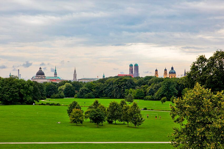 Мюнхен английский сад