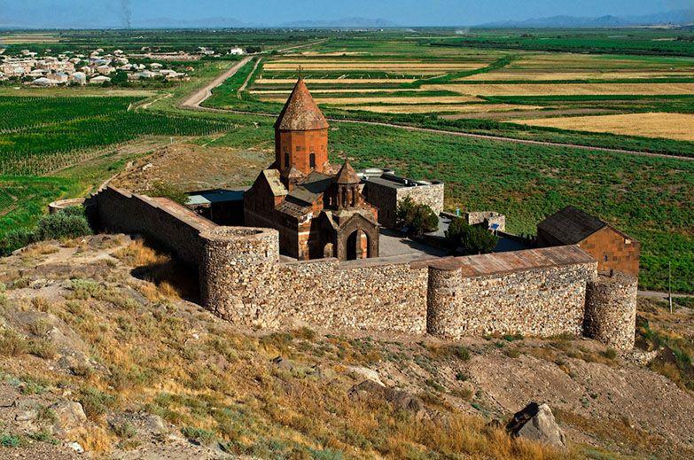 Армения монастырь Хор Вирап