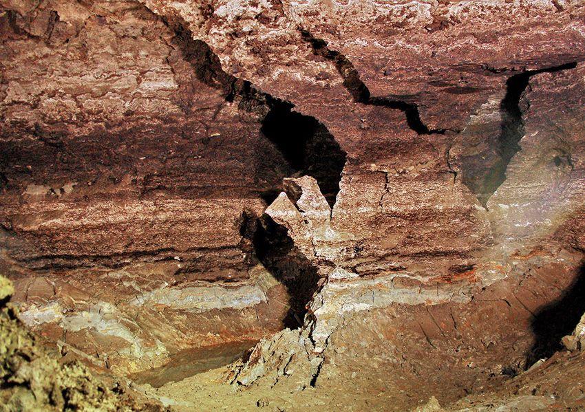 Молдавия пещера «Золушка»