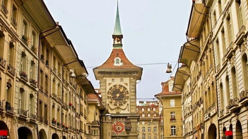 Башня Цитглогге в Швейцарии