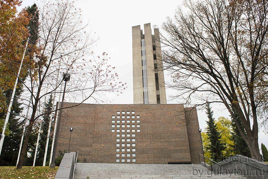 Лахти церковь Ристинкиркко