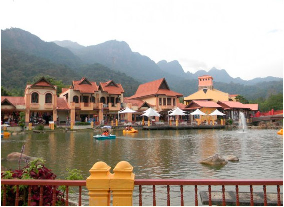 Окрестности Oriental Village