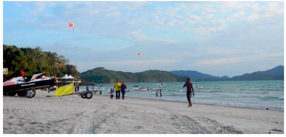 Лангкави пляж Ченанг